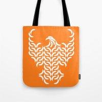 Eagle Banana: Orange Tote Bag