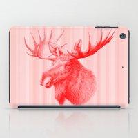 Moose Red iPad Case