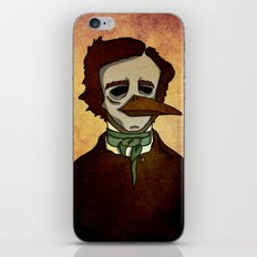 Prophets of Fiction - Edgar Allan Poe /The Raven iPhone & iPod Skin