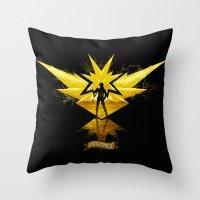 Instinct Throw Pillow