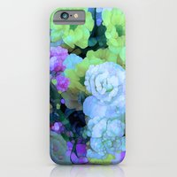 iPhone Cases featuring Bella Flores by Joke Vermeer