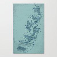 Freetype Canvas Print