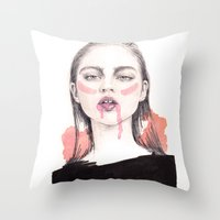 It's A Love/Hate Relatio… Throw Pillow