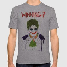 The new joker? Mens Fitted Tee Athletic Grey SMALL