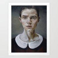 Portrait (shiver) Art Print
