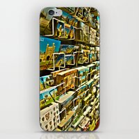 Postcards iPhone & iPod Skin