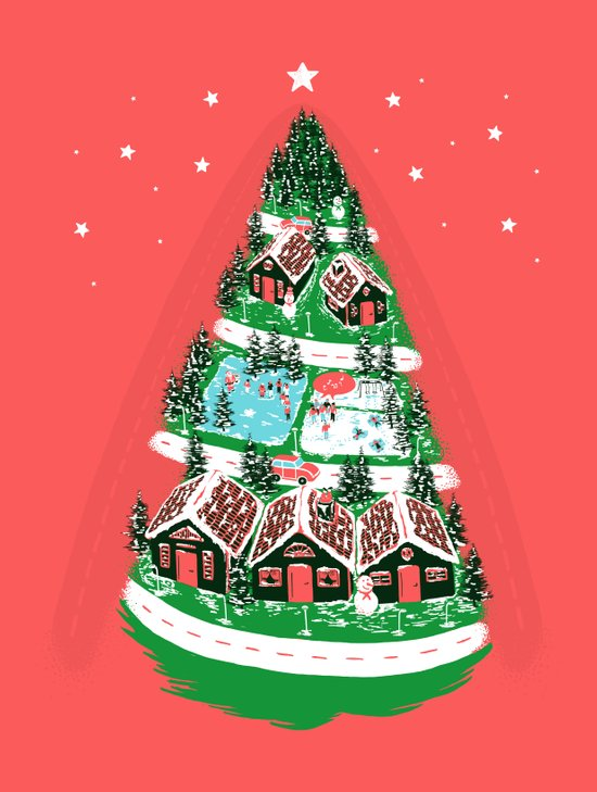 It's begining to look a lot like Christmas Art Print