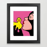 Tweety & Sylvester Framed Art Print