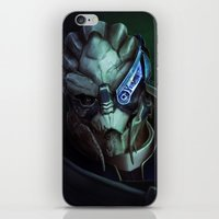 Mass Effect: Garrus Vakarian iPhone & iPod Skin