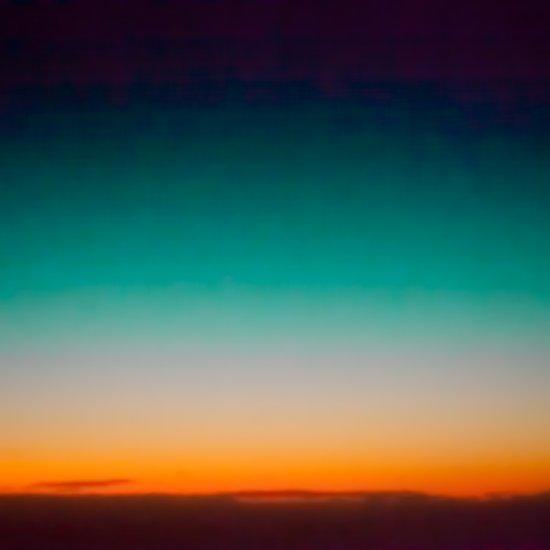 Blue and Yellow Magic Dawn in the Sky Art Print