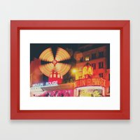 a Parisian icon ... Framed Art Print