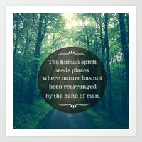 Places In Nature Art Print