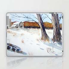 A Different Path - Winter Wonderland Laptop & iPad Skin