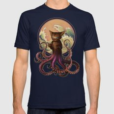 Octopussy Mens Fitted Tee Navy SMALL