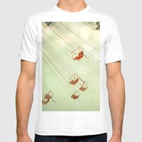 Dreamspun  Mens Fitted Tee White SMALL