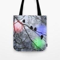 Polar Crows Tote Bag