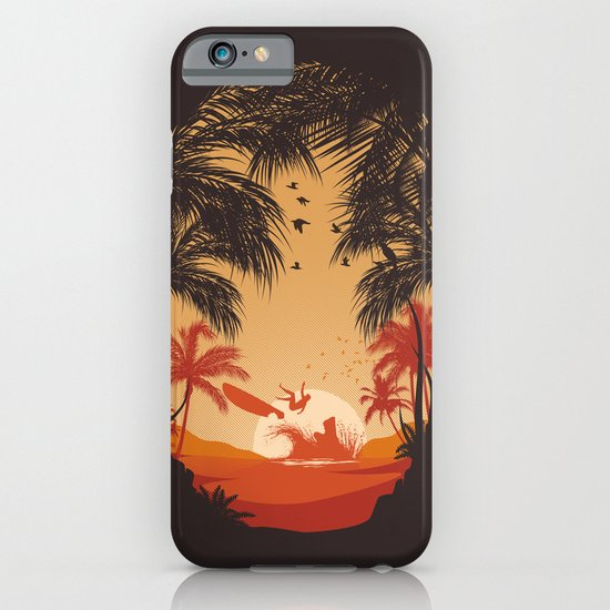 Summertime Madness iPhone & iPod Case