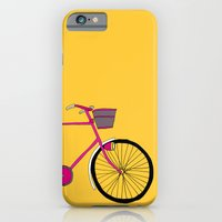 iPhone & iPod Case featuring Bicycle  by bluebutton studio