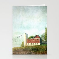 Rural Morning Stationery Cards