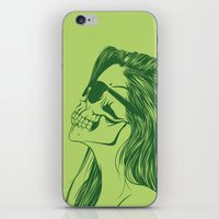 Skull Girl 2 iPhone & iPod Skin