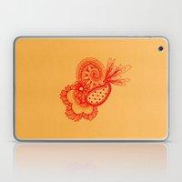 Red Arabesque Laptop & iPad Skin