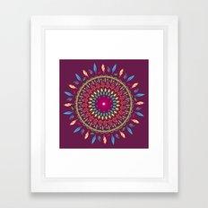 Equinox - Dark Framed Art Print
