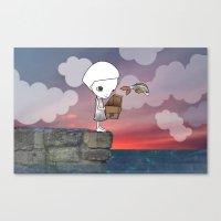 Gone Fishing (2) Canvas Print