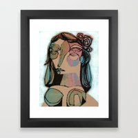 muse1 Framed Art Print