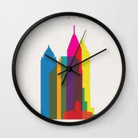 Shapes of Atlanta. Accurate to scale Wall Clock