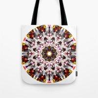 Donkey Flower Kaleidosco… Tote Bag
