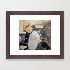 Dead Memories Framed Art Print