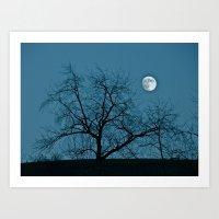 Full Moon 11-8-11 Art Print