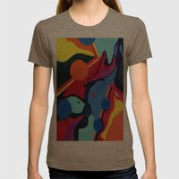 Eye Womens Fitted Tee Tri-Coffee SMALL