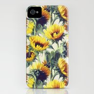 Sunflowers Forever iPhone (4, 4s) Slim Case