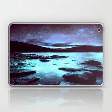 Magical Mountain Lake Violet Aqua Laptop & iPad Skin