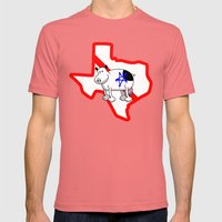 RF #909 Mens Fitted Tee Pomegranate SMALL
