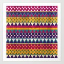 Mexican Pattern Art Print