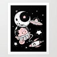 Cosmic Origins Art Print