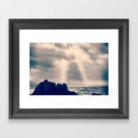 Open Sky Framed Art Print