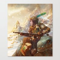 Dragoon legend  Canvas Print
