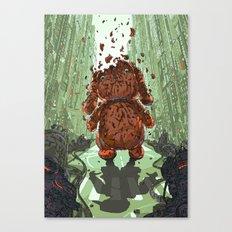 Petdestroyer Canvas Print