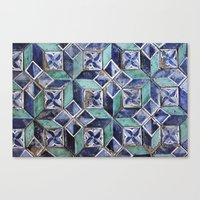 Tiling With Pattern 3 Canvas Print