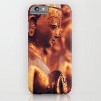 iPhone & iPod Case featuring Swayambhunath Figures by Bailey Aro Photography