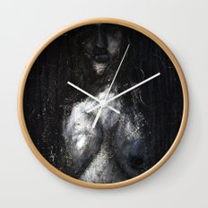 HOT VAMPIRE WITH IMPLANTS Wall Clock