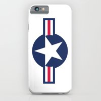 US Air force plane smbol - High Quality image iPhone 6 Slim Case