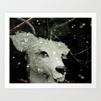 A Little Winter Magic Art Print