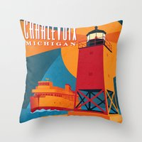 Charlevoix The Beautiful Throw Pillow