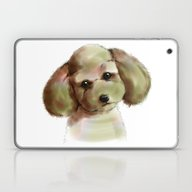 Poodle Laptop & iPad Skin