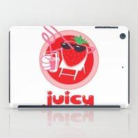 Juicy Strawberry iPad Case
