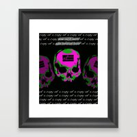 2013 Tension Tour Framed Art Print